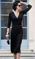 STELLA MCCARTNEY noir en coton mélangé dress it 42 uk 10