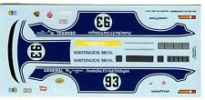 PORSCHE 934 WHITTINGTON N°93 RACE DAYTONA 1979 CARTOGRAF DECALS 1/43