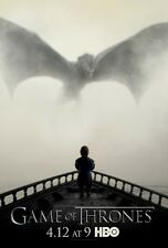GAME OF THRONES poster PETER DINKLAGE  11 x 17 inches DRAGON poster