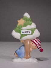 +# A008358 Goebel Archiv Muster Nordic Christmas Junge mit Tanne Schnee