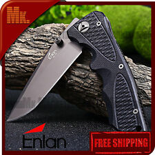 Folding Knife Authentic ENLAN EL-12 | 8Cr13MoV G10 | Navaja plegable ENLAN EL12