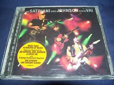 G3: Live in Concert - Joe Satriani Eric Johnson Steve Vai (CD 1997) FREE Ship