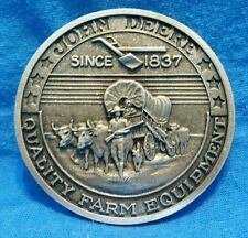 John Deere Medallion, Quality Farm Equipment Since 1837, The Prairie Schooner