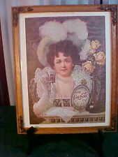 1975 Exquisite Coca-Cola Framed Reproduction Advertising Print