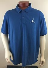 NIKE AIR JORDAN Men's Short Sleeve Dri-Fit Polo Shirt Size 2XL