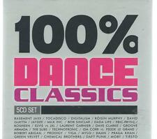 5 CD box - 100 % DANCE CLASSICS - BASEMENT JAXX DIGITALISM - TIGA  - HOLLAND POP