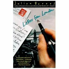 Letters from London Barnes, Julian Paperback