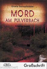 *- MORD am PULVERBACH - Gisela GARNSCHRÖDER  tb (2010)