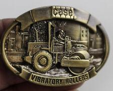 CASE IH VIBRATORY ROLLER PAVER ROADS FIELDS TRUCKING LIFTING BELT BUCKLE NEW