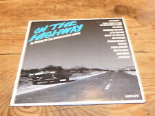 VARIOUS - UNCUT ON THE HIGHWAY !!!!!!!!!!! RARE CD PROMO