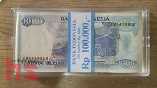 Indonesia 1000 Rupiah  Banknote UNC 1992 100pcs running number Replacement