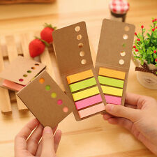 Fashion Colorful 100 Pages Book Mark Memo Notes Scrapbooking Sticker Paper 1PC