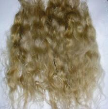 WIG MAKING WEFTS MOHAIR LOCKS DOLLS SPECIAL EFFECTS - HONEY 10GRAMS