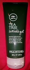 Paul Mitchell Tea Tree Firm Hold Styling Gel ~ Maximum Hold And Shine ~ 6.8 oz