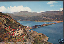 Wales Postcard - Barmouth Bridge and Cader Idris     RR80
