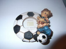 Sweet Cakes Series Picture Frame - Boy Playing Soccer - by Vanmark