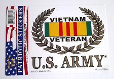 VIETNAM VETERAN US ARMY Military Veteran Window Decal DC8313 EE