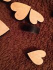 20 Wooden Mixed Size 6 Mm Mdf Hearts