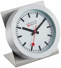 Mondaine Analog Quartz Magnetic Stainless Steel Clock A660.30318.81SBB
