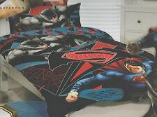BATMAN V SUPERMAN DC COMICS DOUBLE / US FULL bed QUILT DOONA DUVET COVER SET NEW