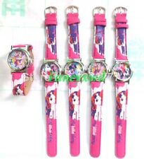 lots of 10 pcs cartoon my little pony watches kids lovely children Wristwatches