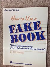 How to Use a Fake Book - Ann Collins - Accompaniments from Melodies/Chord Symbol