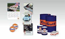 GULF OIL PACK, DRUM, CANS FOR 1/18 SCALE DIECAST MODELS BY TSM 12AC23
