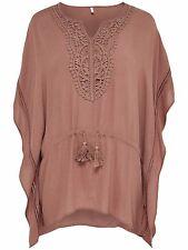 *649 NEU ONLY Damen Top Shirt Bluse Tunika DELTA KAFTAN WVN    Gr.38