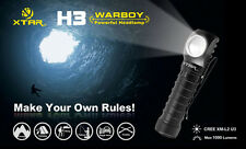 New XTAR H3 Cree XM-L2 U3 1000 Lumens LED Headlight Flashlight ( 18650 )