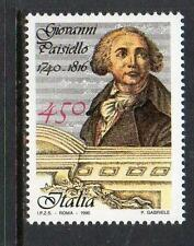 ITALY MNH 1990 SG2099 250TH BIRTH ANV OF GIOVANNI PAISIELLO (COMPOSER)