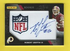 2012 PANINI BLACK FRIDAY PATCH ROBERT GRIFFIN III AUTOGRAPH ROOKIE FOOTBALL CARD