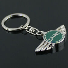 Key Chain Metal Keychain Key Ring oval frame Green for Mini Cooper