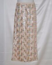 Styled by Joe Zee Sequin Ankle Length Skirt Size 4 Blush