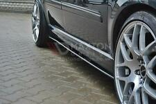 SIDE SKIRTS SPLITTERS (GLOSS BLACK) VAUXHALL/OPEL ZAFIRA B VXR (2005-2011)