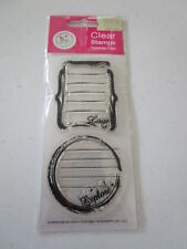 Love & Explore Clear Stamps/ NEW JUST ADD TO YOUR BLOCK