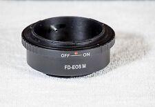 Adaptador Canon FD a EOS M