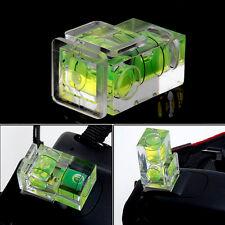 Neu 2-Achsen-Wasserwaage Blitzschuh Abdeckkappe für Kamera DSLR
