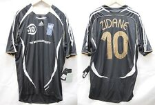 "The Match Against Poverty 2007 Zidane #10 Soccer Football Shirt Jersey ""BNWT"""