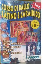 3 DVD CORSO DI BALLO LATINO E CARAIBICO