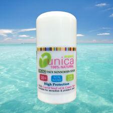 UNICA COSMETICS 100% NATURAL NON NANO SUNSTICK SUNSCREEN GREEN T SPF 30+