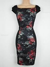 BNWTJoe Browns Optical Illusion Wiggle Pencil Dress Size 14 Stretch RRP £60