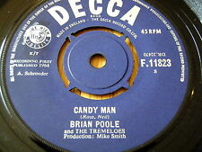 "BRIAN POOLE & THE TREMELOES - CANDY MAN      7"" VINYL"
