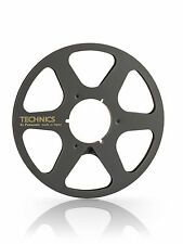 "New Technics 10.5"" inch Metal Reels 6 Spokes for 1/4"" Tape"