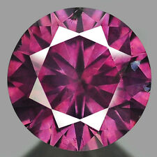 DIAMANTE CT 0.30 NATURALE TAGLIO BRILLANTE COLOR ROSA MM.4.33 X 2.48 X 4.33