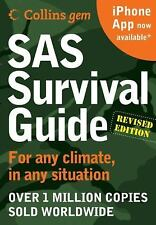 SAS Survival Guide 2E Collins Gem Any climate for Any Situation Book