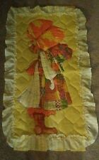 Holly Hobbie Yellow Quilt Wall Hanging