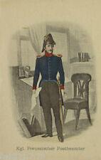 """""""Postbote, Kgl. Preussischer Postbeamter"""" 1907, Nr.17♥ (6897)"""