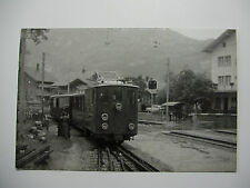 Suis217 - SCHYNIGE PLATTE BAHN Suisse Railway at WILDERSWIL PHOTO Switzerland