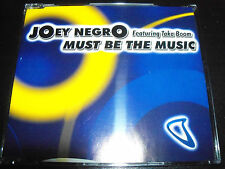 Joey Negro Feat Taka Boom Must Be The Music Australian 4 Track Remixes CD