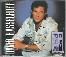 David Hasselhoff  CD-SINGLE FREEDOM FOR THE WORLD  (c) 1990